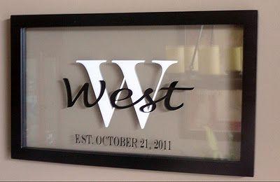 clogoutlet com discount code framed monogram  wedding gift