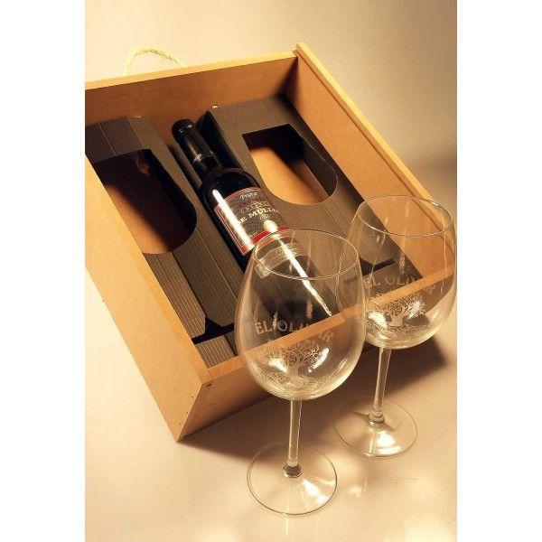Botella de vino tinto de muller legitim crianza 2011 y - Botellas de vidrio para regalo ...