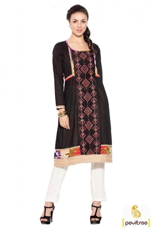 The 25 Best Pakistani Long Kurtis Ideas On Pinterest