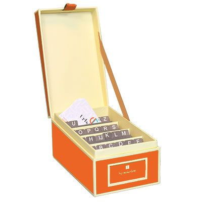 152 best colorful office supplies images on pinterest desk orange business card box by semikolon available at urbangirl httpwww colourmoves
