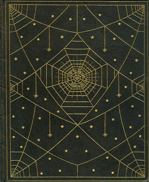 The Book of Wonder | Lord Dunsay 1912 (bound in deer skin with gilt spiderweb design)