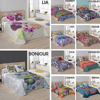 Colchas BARATAS Colchas Bouti baratas colcha de cama 100%ALGODON Colcha Barata in Casa, jardín y bricolaje, Ropa de cama, Colchas y edredones | eBay