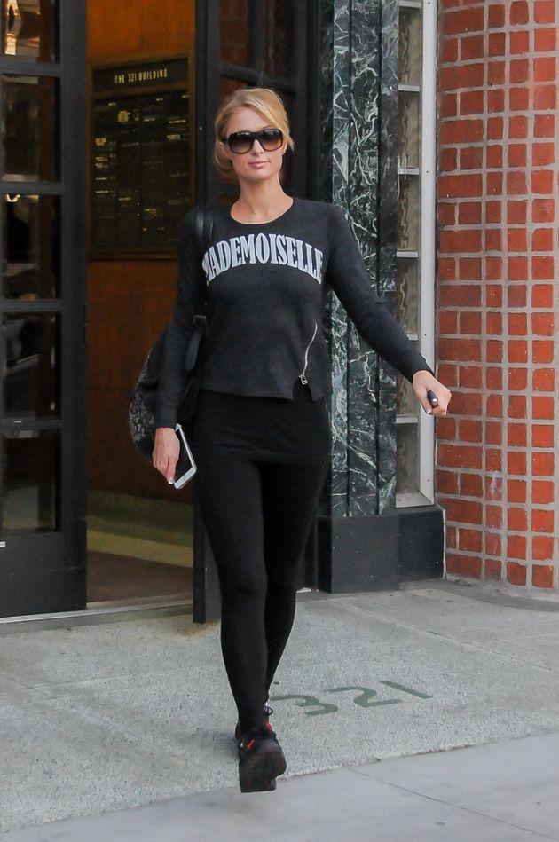 Paris Hilton Steps Out in Sunglasses #ParisHilton