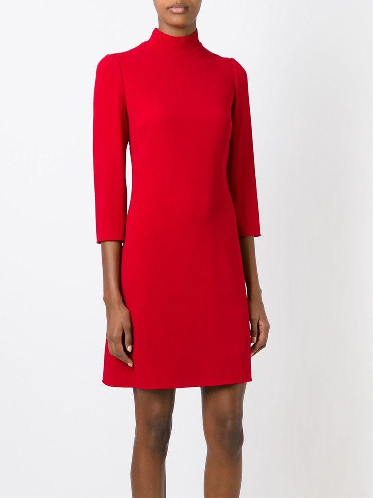Dolce & Gabbana А-образное Платье С Высоким Горлом - Du Broliai - Farfetch.com