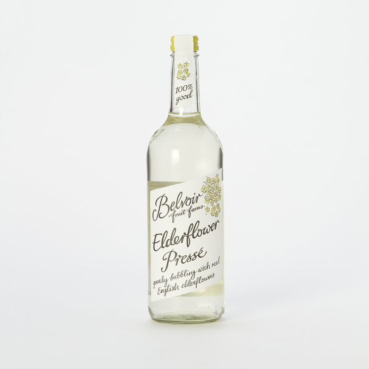 Elderflower Presse - A refreshing & light cold drink pairing for a spring or summer garden tea party