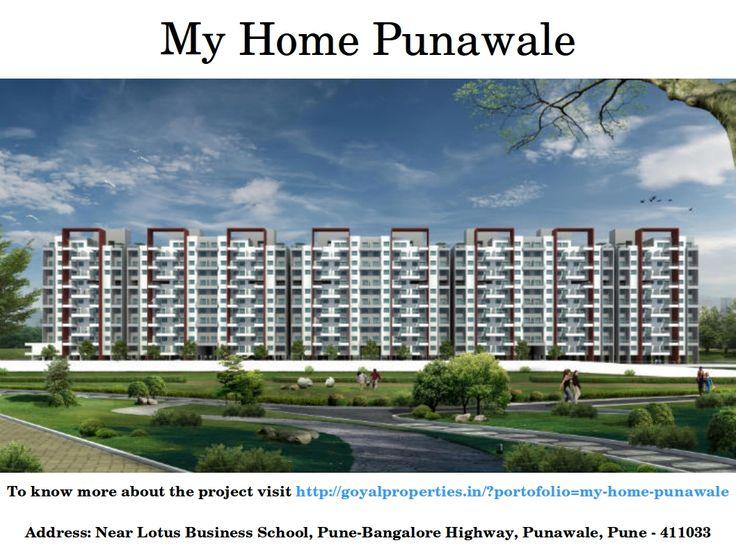 Exclusive details of My Home Punawale near Hinjewadi and Wakad Pune