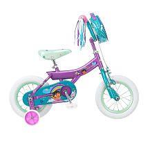 Girls 12 inch Dora the Explorer Bike  Purple and Teal