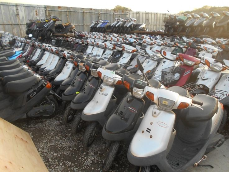 Used Japanese Motorcycles: POPULAR YAMAHA SCOOTERS LIKE JOG, APRIO, GRAND AXIS, SPACY GEAR, CYGNUS ETC. Contact us now and make your first order. Visit our site www.autorabbit.jp.