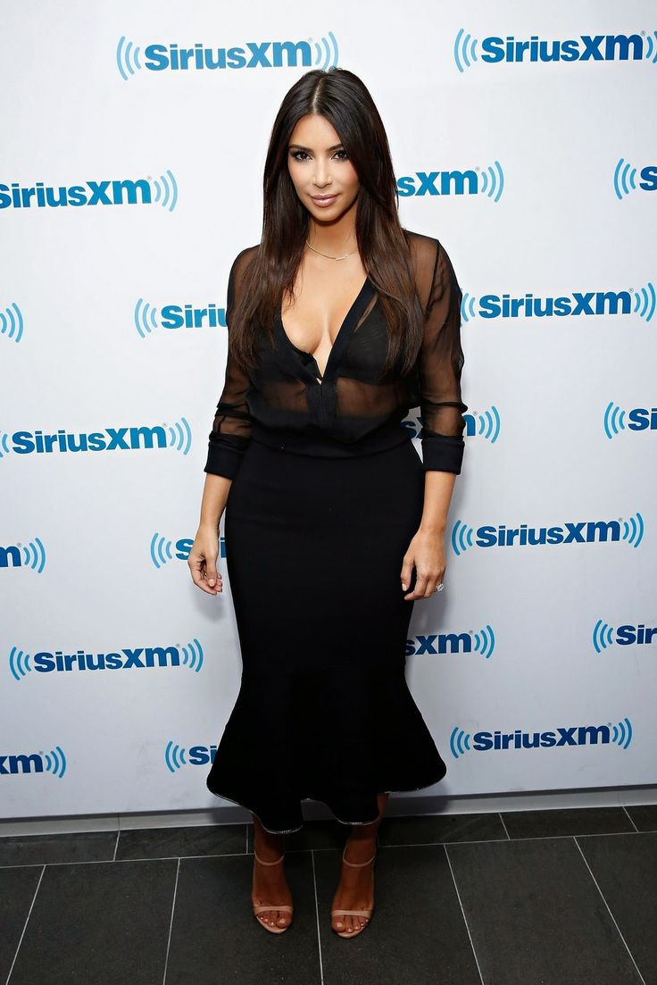 Kim In Givenchy While In NYC For Sirius XM Radio Interview #LaPerla #Lingerie #celebrity #luxurylife #style #fashion