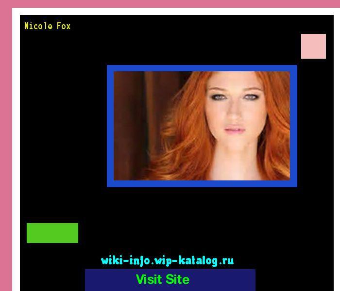 Nicole fox 165721 - Results Now On wiki-info!