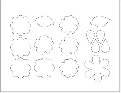 Best Print Images On   Fabric Flowers Felt Flower