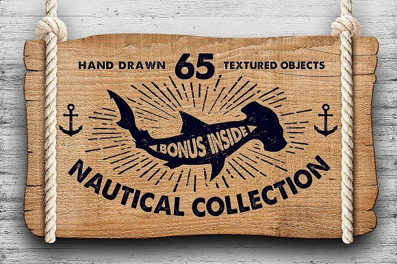 NAUTICAL COLLECTION by Cosmic Store on @creativemarket