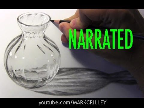 How to Draw Glass [Narrated Step-by-Step] (+playlist)