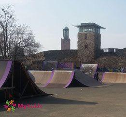 BMX-Park Skatepark Darmstadt