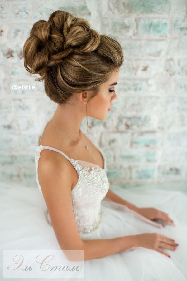 www bridal hair style best 25 wavy bridal hair ideas on 3380 | f06441e1f62713375a73f266aa43dc73 elegant bride wedding updo elegant