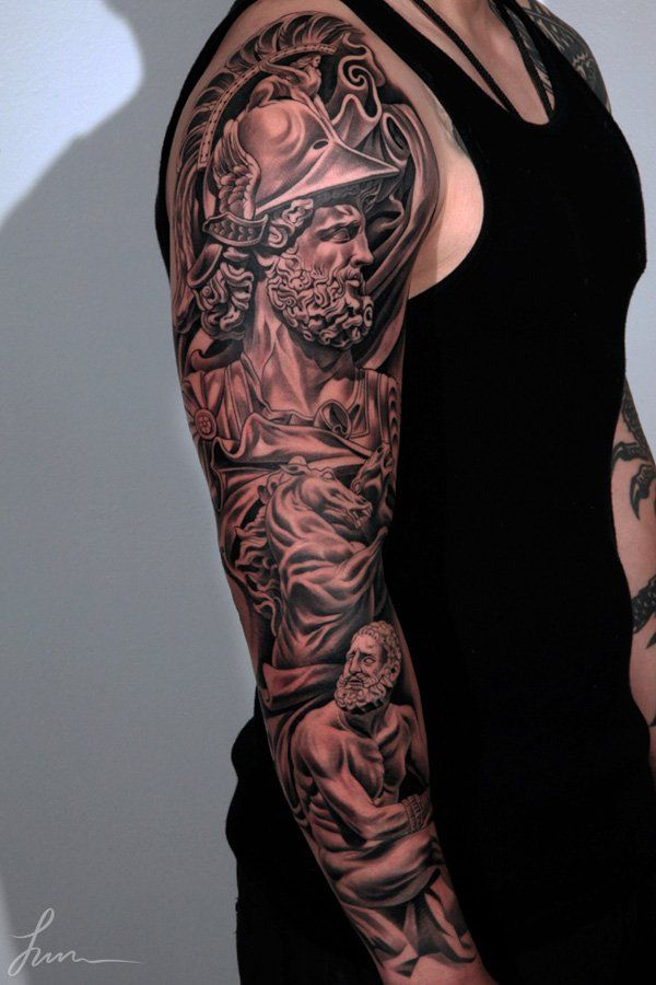 3D full sleeve tattoo - 80+ Awesome Examples of Full Sleeve Tattoo Ideas