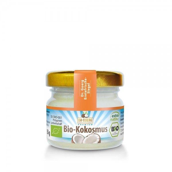 Premium Bio-Kokosmus im handlichen 26 g-Glas
