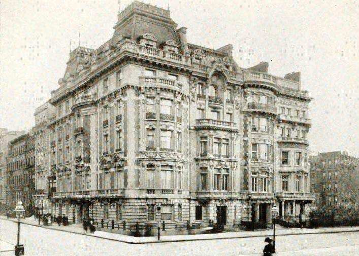 Duke Semans Mansion 5th Ave And 82nd St 1890 1913