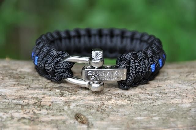 Paracord bracelets survival gear survival straps cool for Cool things to do with paracord