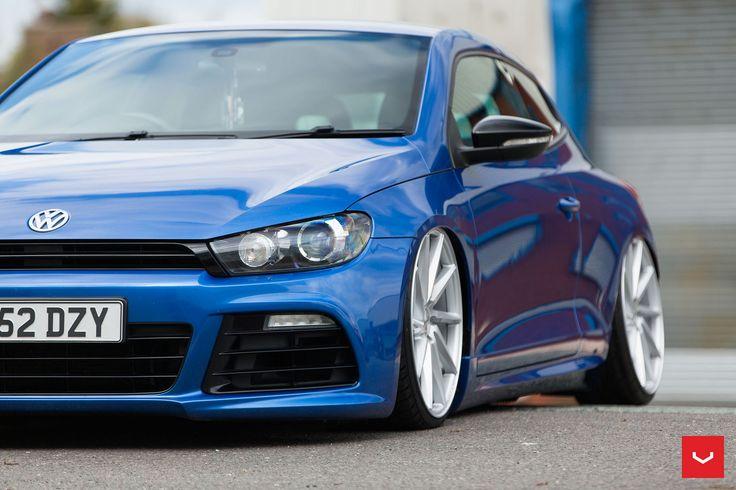 https://flic.kr/p/LehcBR | VW Scirocco on Vossen CVT and VLE-1 Wheels - © Vossen…
