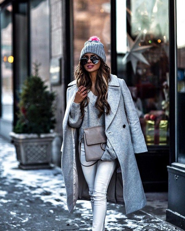bbab952bf80a Street style образы осень-зима 2018-2019  уличная мода, трендовые луки в  городском стиле на фото