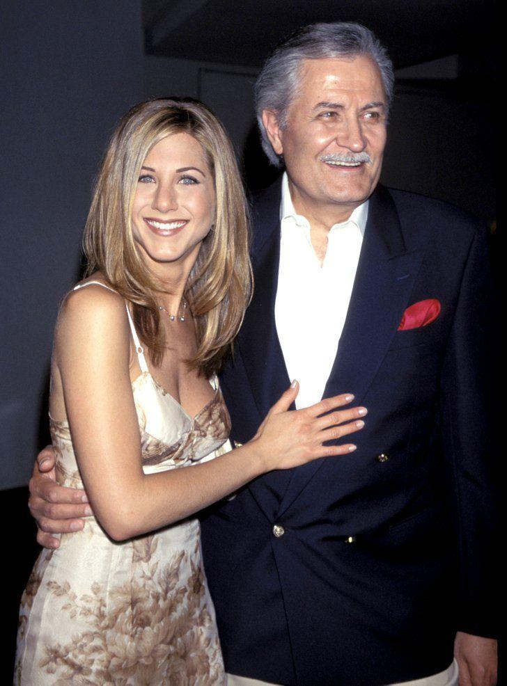 Pin for Later: Découvrez les stars et leurs pères célèbres pour la fête des pères ! John et Jennifer Aniston