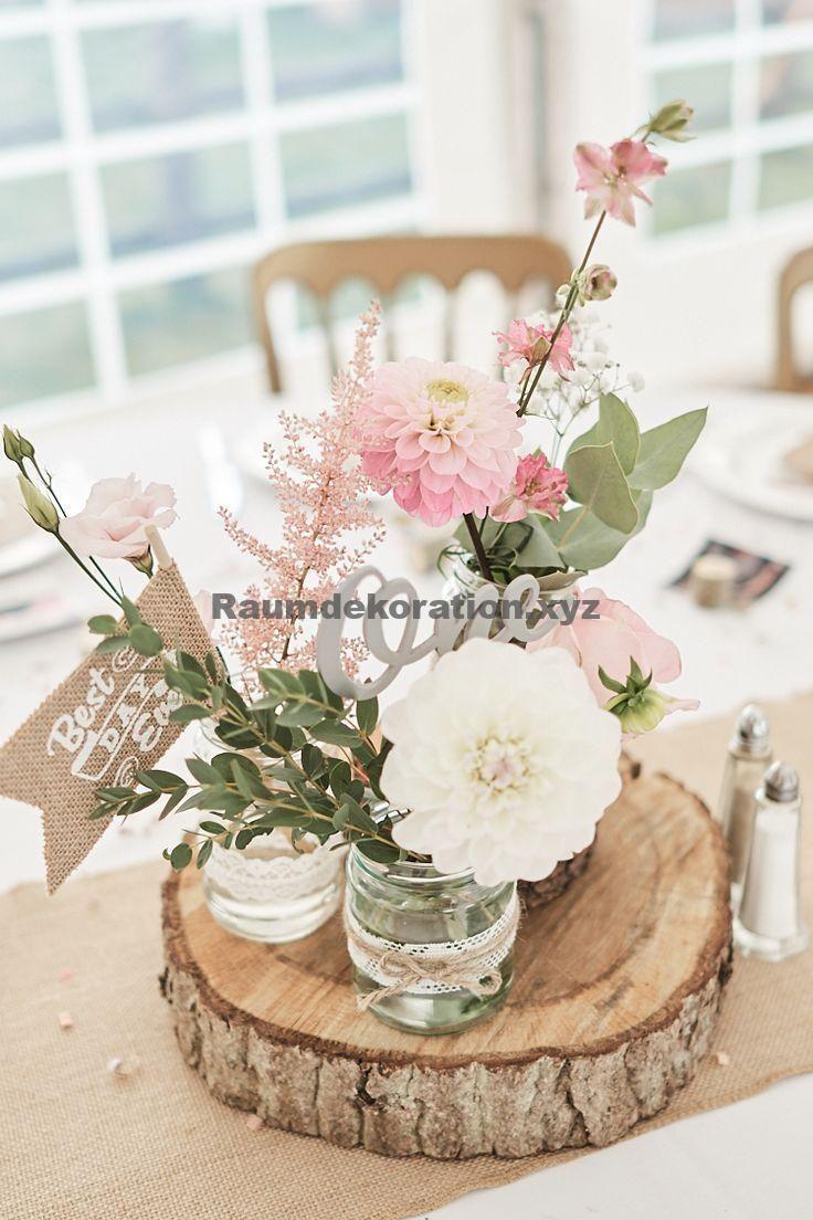Tischdeko Hochzeit – Hölzerner Bauernhof-Scheunen-Hochzeits-Suffolk