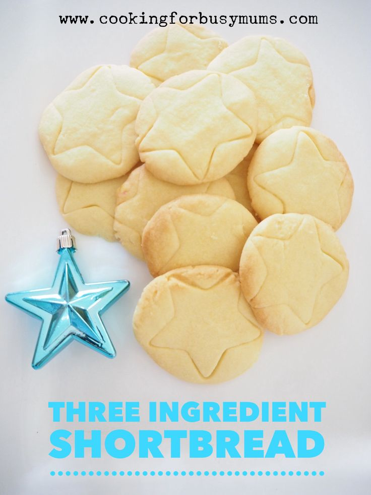 Three Ingredient Shortbread