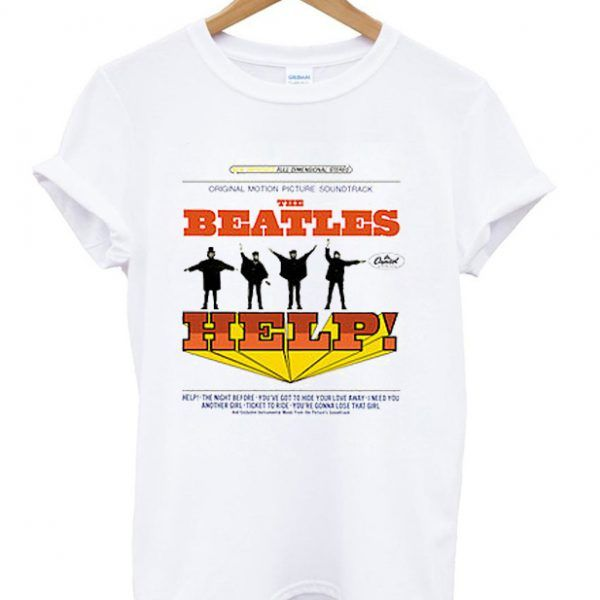 The Beatles Help Albums T Shirt