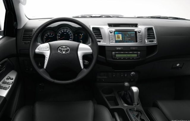 2018 Toyota Hilux Interior