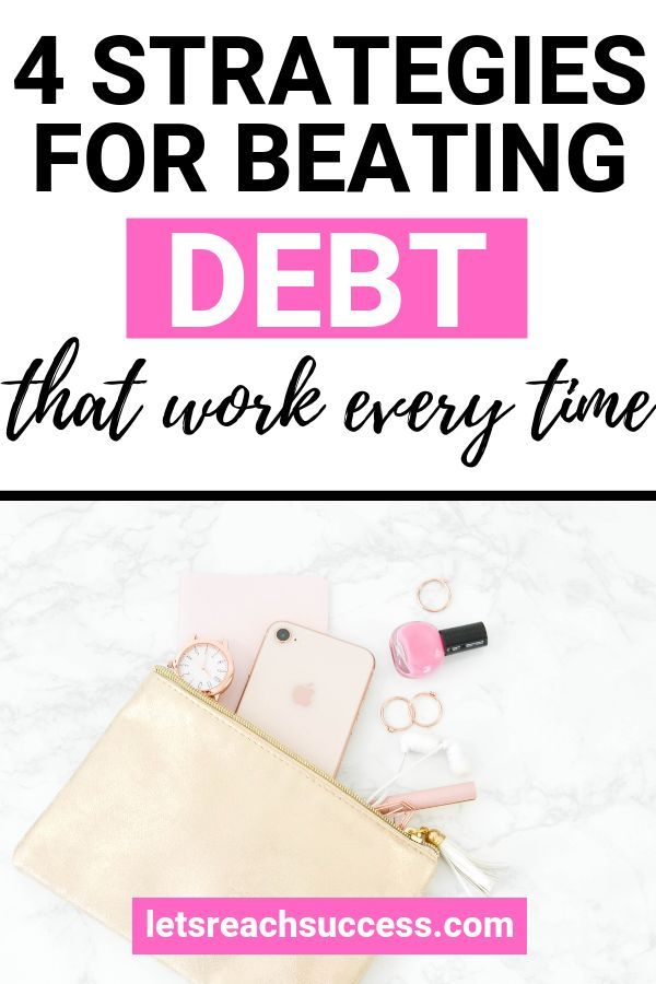 How To Find Out All Your Debts 4 Strategies To Clear Debt Debt Clear Debt Personal Budget