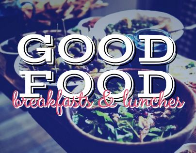 """Check out new work on my @Behance portfolio: """"Good Food"""" http://be.net/gallery/31675819/Good-Food"""