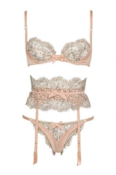 aperfumedpearl:     The Gypsy set by Agent Provocateur, S/S 2010    Love that lace.