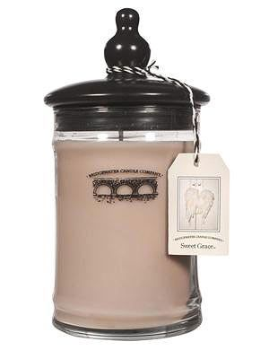 Buy a Bridgewater Candle: the ones in the Light a Candle Feed a Child program feeds an orphaned child for a day, and each holds a tag featuring the child you've fed.