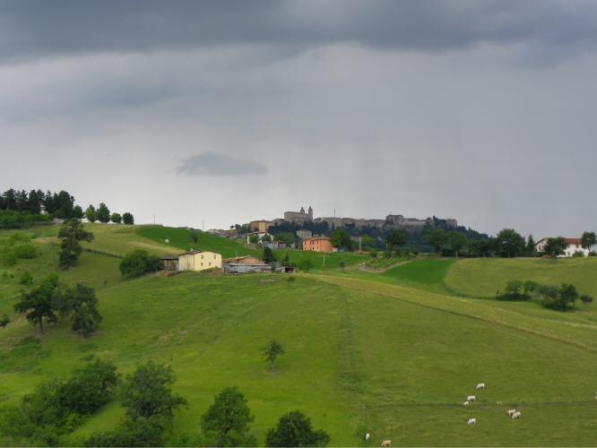 Summer rain #Camerino