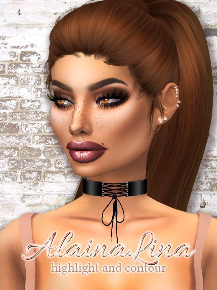 alainalinacc Highlight and Contour So I... Alaina