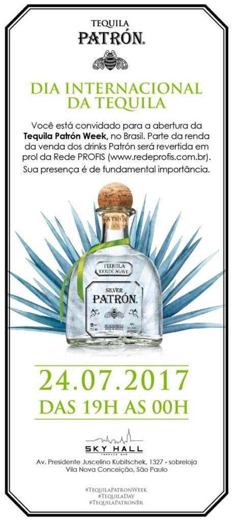 Tequila Patrón Week tem leilão beneficente de garrafas customizadas