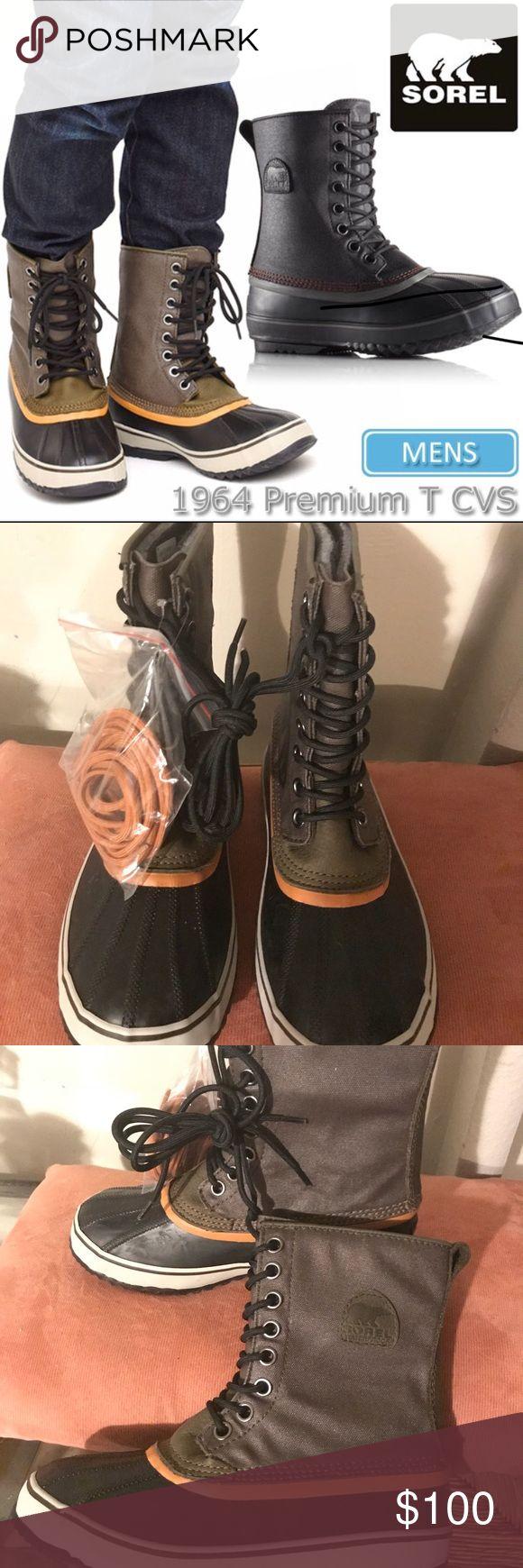 Sorel men's premium t cvs Out of stock. Waterproof men's sorel boots size 8. Sorel Shoes Boots