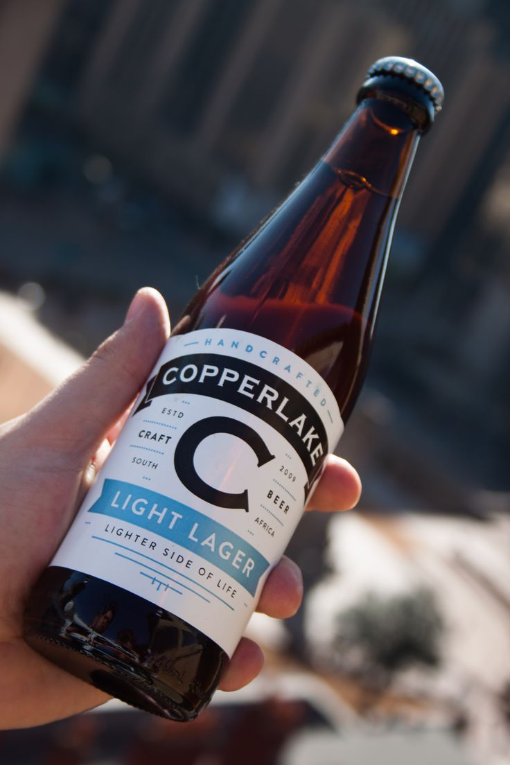 This is a awesome session golden light lager, made by Copperlake Breweries based in Fourways, North Johannesburg.  We helped ourselves to a few of these tasty lagers at the Copperlake restaurant and found the taste pleasing and refreshing on a warm afternoon.   The Light Lager comes in 440ml bottles. #Craft #CraftBeer #Copperlake #Joburg #Beer #Johannesburg #Jozi #Ecommerce #Online #BrownBottle #Bottles