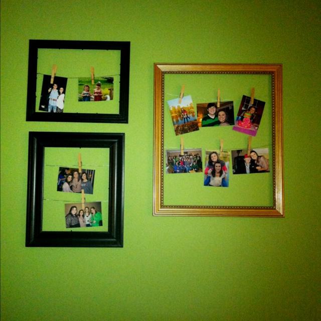 Cute picture frame idea