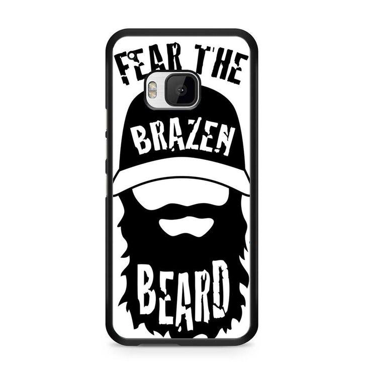 Brazen Beard Logo For HTC ONE M9