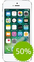 Apple iPhone 5s Plata 16GB