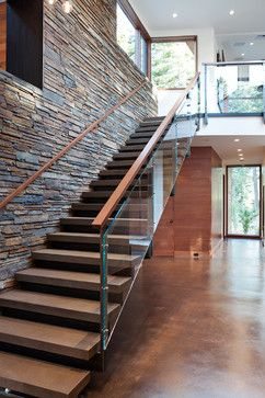 Mountain Modern Digs - contemporary - staircase - sacramento - Ward-Young Architecture & Planning - Truckee, CA