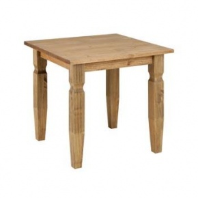Cotswold Pine 800mm Square Dining Table SF799  www.easyfurn.co.uk