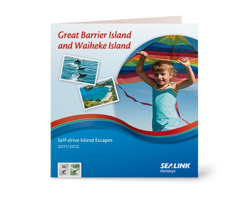 SeaLink branding - shown on their holiday brochure cover.