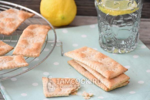 Веганские цельнозерновые крекеры на оливковом масле