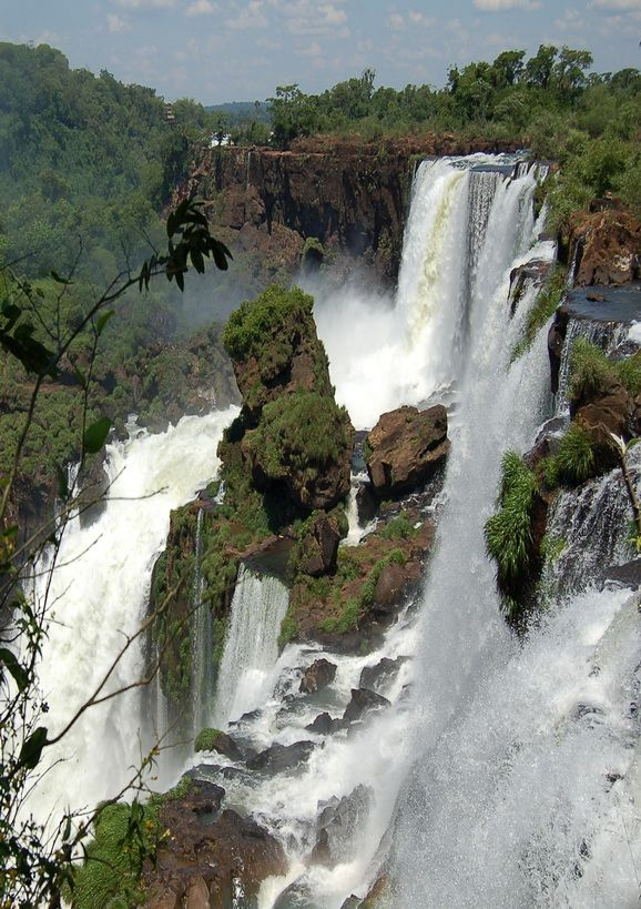 The Iguazu Waterfalls, Argentina-Brazil Border