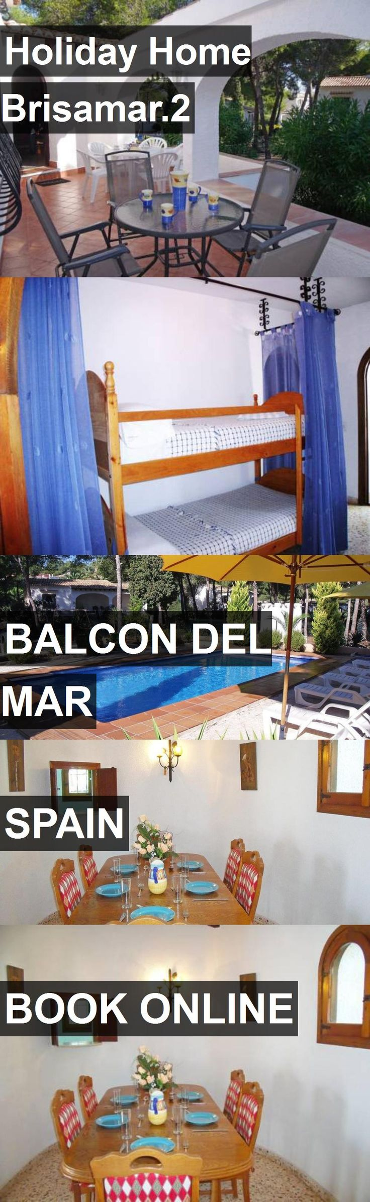 Hotel Holiday Home Brisamar.2 in Balcon del Mar, Spain. For more information, photos, reviews and best prices please follow the link. #Spain #BalcondelMar #travel #vacation #hotel