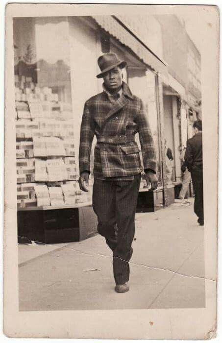 1940 Harlem Renaissance men's  fashion