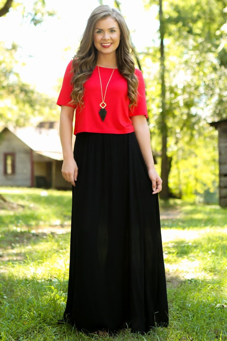 A long red dress boutique